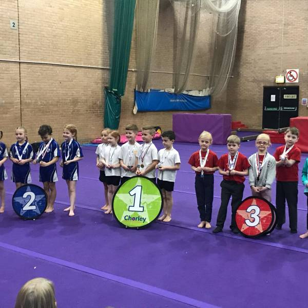 Primary Gymnastics Success