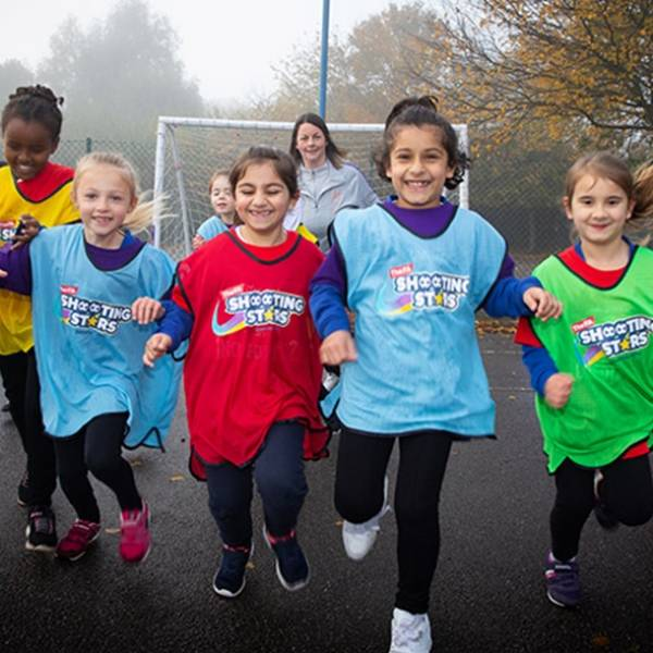 THE FA LAUNCHES SHOOTING STARS PROGRAMME
